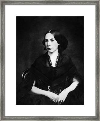 Mary Anna Morrison Jackson 1831-1915 Framed Print