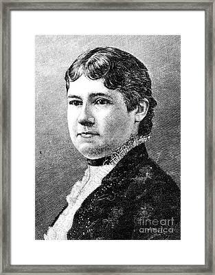 Mary Arthur Mcelroy Framed Print by Granger