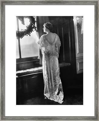 Mary Garden (1874-1967) Framed Print by Granger