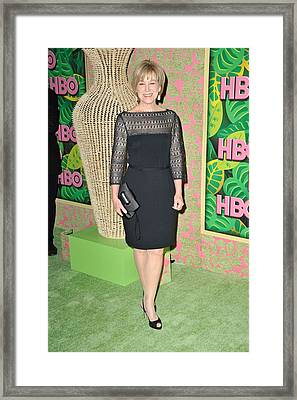 Mary Kay Place At Arrivals For Hbo Framed Print by Everett