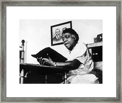 Mary Mcleod Bethune 1875-1955 Framed Print