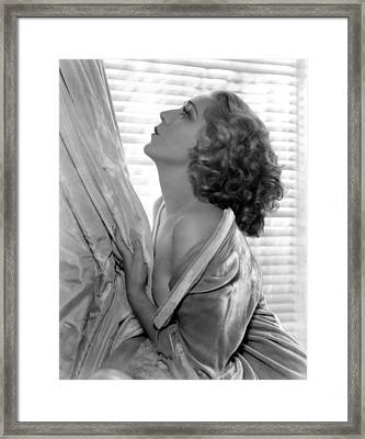 Mary Pickford, 1935 Framed Print by Everett