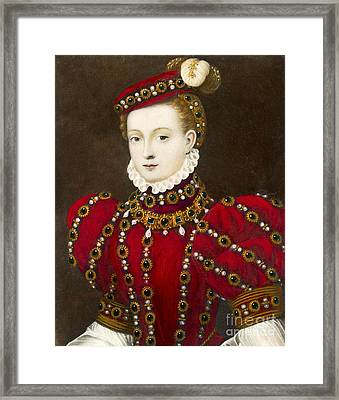 Mary Queen Of Scots Framed Print by Mary Evans Picture Library and Photo Researchers