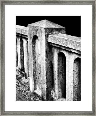 Mary Street Bridge Bristol Virginia Framed Print