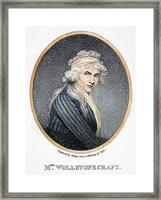 Mary W. Godwin (1759-1797) Framed Print by Granger