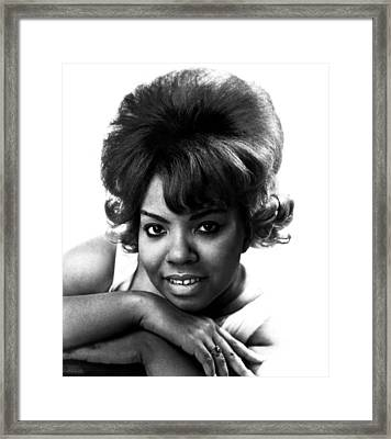 Mary Wells, 1943-1992, American R&b Framed Print by Everett