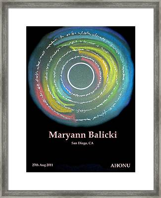 Maryann Balicki Framed Print