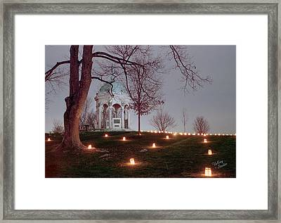 Maryland Monument 11 Framed Print by Judi Quelland