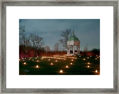 Maryland Monument 3 - 11 Framed Print by Judi Quelland