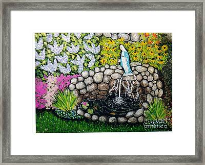 Mary's Pond Framed Print by William Ohanlan