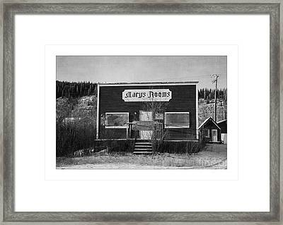Mary's Rooms Framed Print by Priska Wettstein