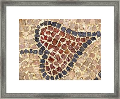 Masada Leaf Framed Print
