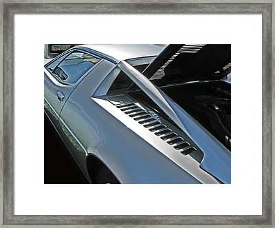 Maserati Merak Detail Framed Print by Samuel Sheats