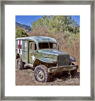 M.a.s.h Property 1  Framed Print by Jason Abando