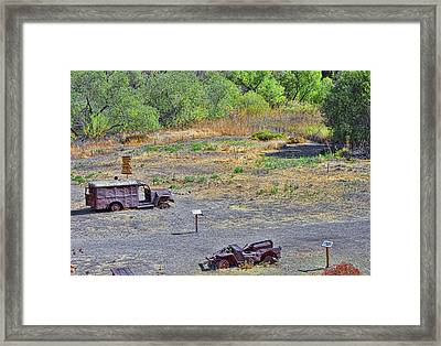 M.a.s.h Property 2 Framed Print by Jason Abando