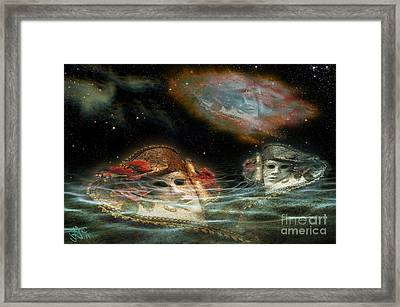 Mask Nebulae Framed Print