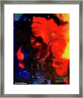 Masked Illusion Framed Print