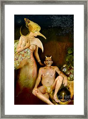 Masquerade - Beyond The Comedy Framed Print by Alexei Solha