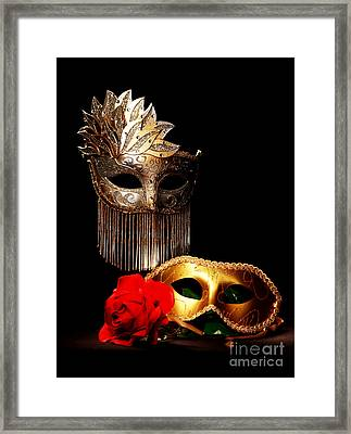 Masquerade Framed Print by Gary Scott
