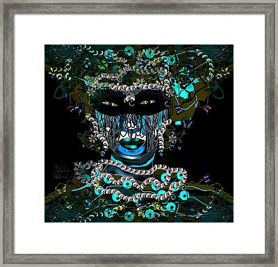 Masquerade Party Framed Print by Natalie Holland