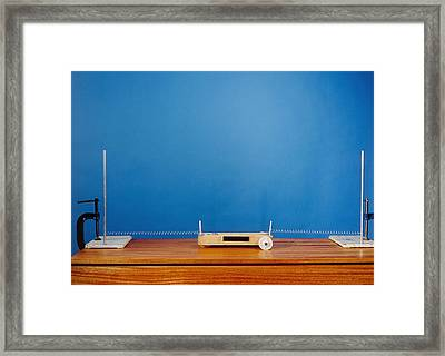 Mass-spring System Framed Print by Andrew Lambert Photography