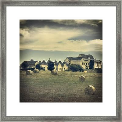 Masseria Framed Print by Joana Kruse