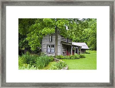 Mast Farm Inn Framed Print