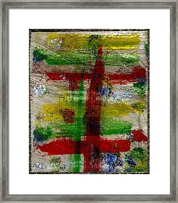 Mast On Fire Framed Print by Kimanthi Toure