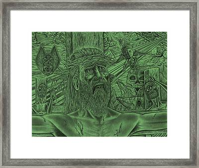 Master Of Me Framed Print by Vincnt Clark