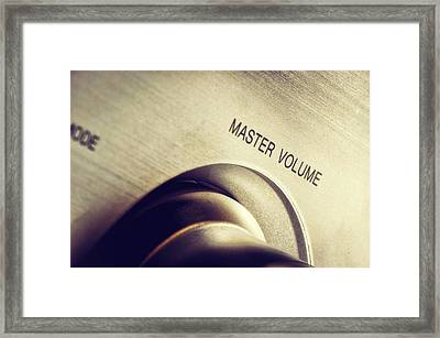 Master Volume - On Framed Print