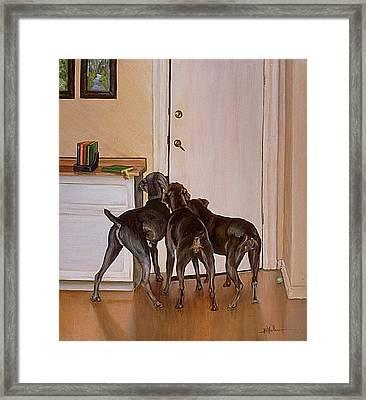 Master's Home Framed Print