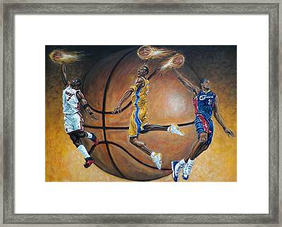 Masters Of The Game Framed Print by Billy Leslie