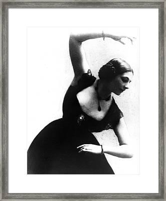 Mata Hari Framed Print by Everett
