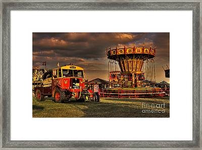 Matador And The Wave Swingers Framed Print