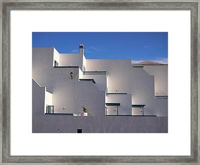 Matagorda Balconies Framed Print