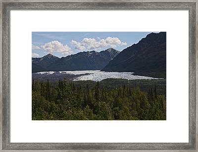 Matanuska Glacier Framed Print