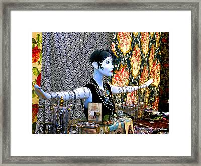 Material Girl Framed Print