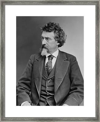 Mathew B. Brady 1823-1896, Prominent Framed Print by Everett