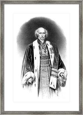 Mathieu Orfila, Father Of Toxicology Framed Print by Science Source