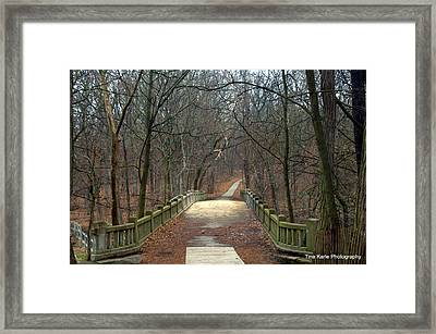 Mattheson State Park Framed Print by Tina Karle