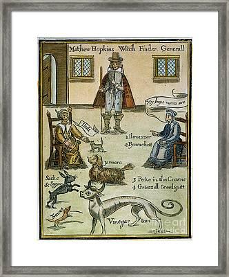 Matthew Hopkins (d. 1647) Framed Print