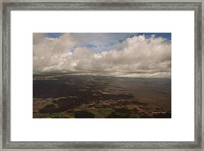 Maui Beneath The Clouds Framed Print by Paulette B Wright