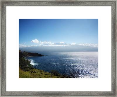 Maui Wonder Framed Print by Linda Dunn