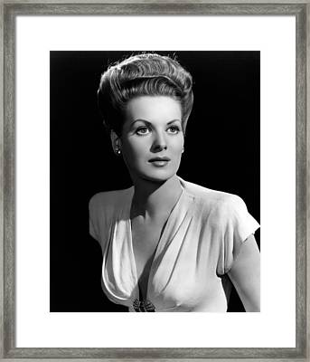 Maureen Ohara, 21746 Framed Print by Everett