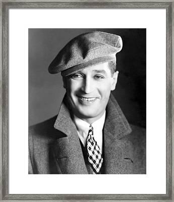 Maurice Chevalier, Ca. 1930 Framed Print by Everett