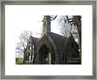 Mausoleum Framed Print