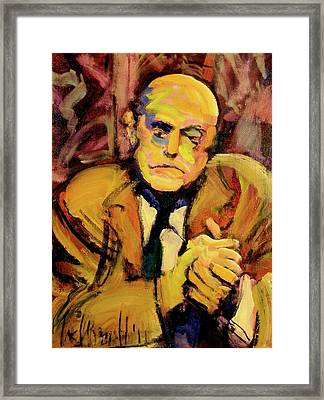 Max Beckman Framed Print by Les Leffingwell