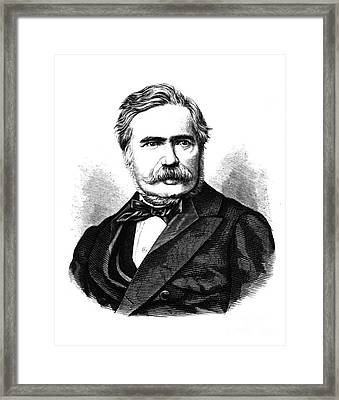 Max Joseph Von Pettenkofer, Bavarian Framed Print