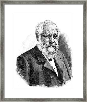Max Joseph Von Pettenkofer, German Framed Print