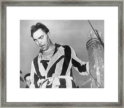Max Schmeling, 43-year-old Former Framed Print by Everett